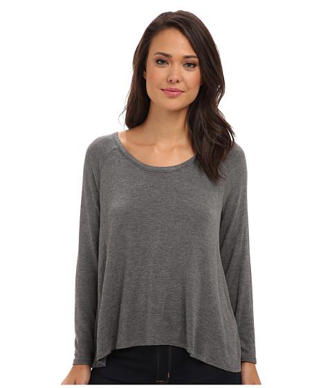 Soft Joie - Hidalgo 6016-23657 (Dark Heather Grey) Women's Long Sleeve Pullover