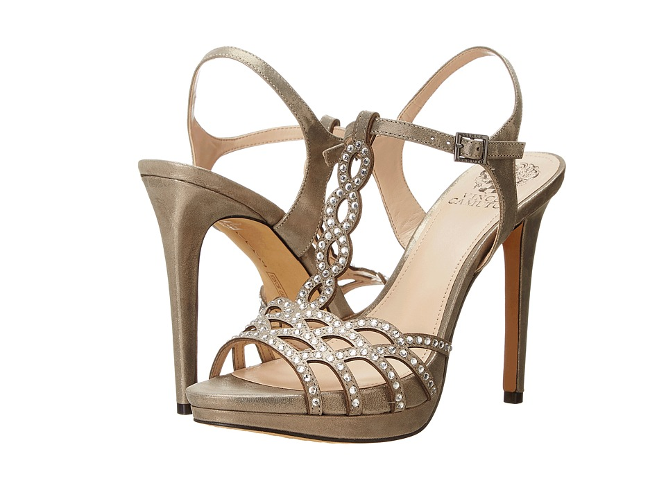 Vince Camuto - Cristiana (Steel/Stealth Gray/Stealth Gray) High Heels