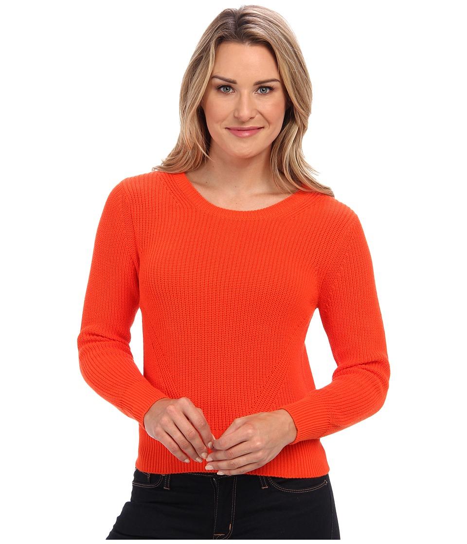525 america - Shaker Crop Crew (Volcano) Women's Long Sleeve Pullover
