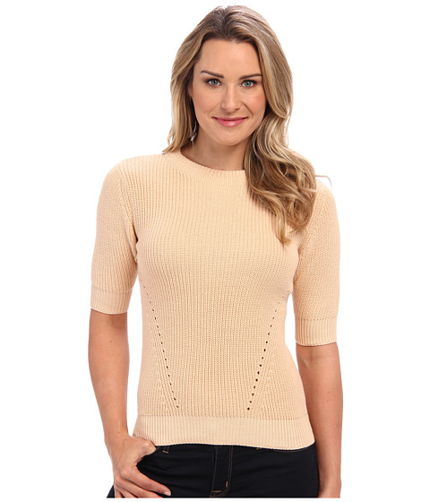 525 america - S/S Hi Rib Mock (Belini) Women's Sweater