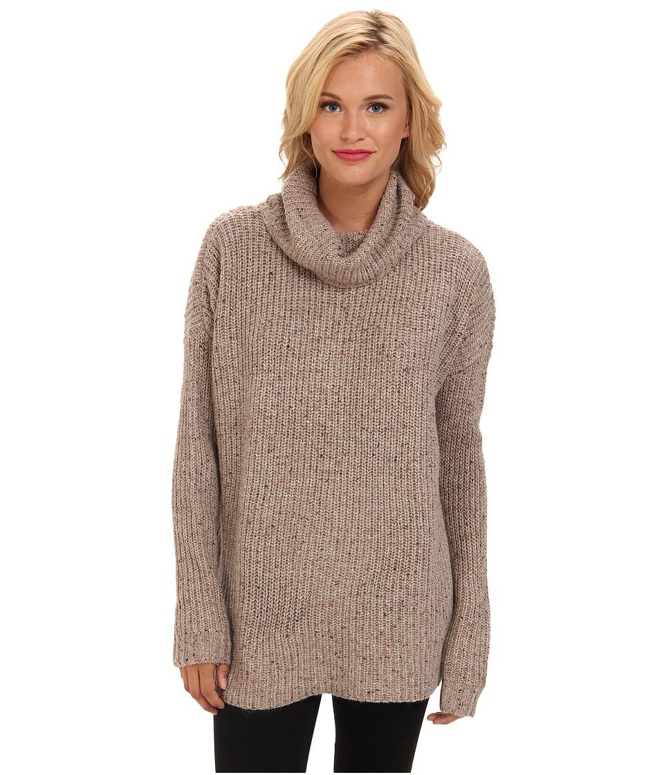 Soft Joie - Lynfall 6606-27777 (Dark Heather Camel) Women's Sweater