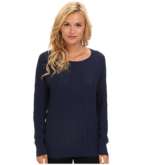 Soft Joie - Annora 6300-27437 (Deep Indigo) Women's Long Sleeve Pullover