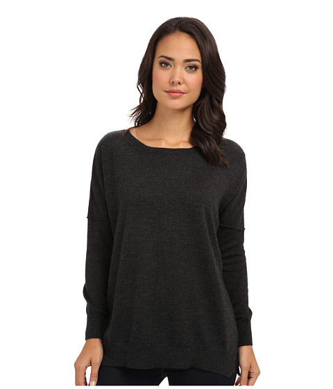 525 america - Reese - Oversized Tunic (Dark Grey) Women's T Shirt