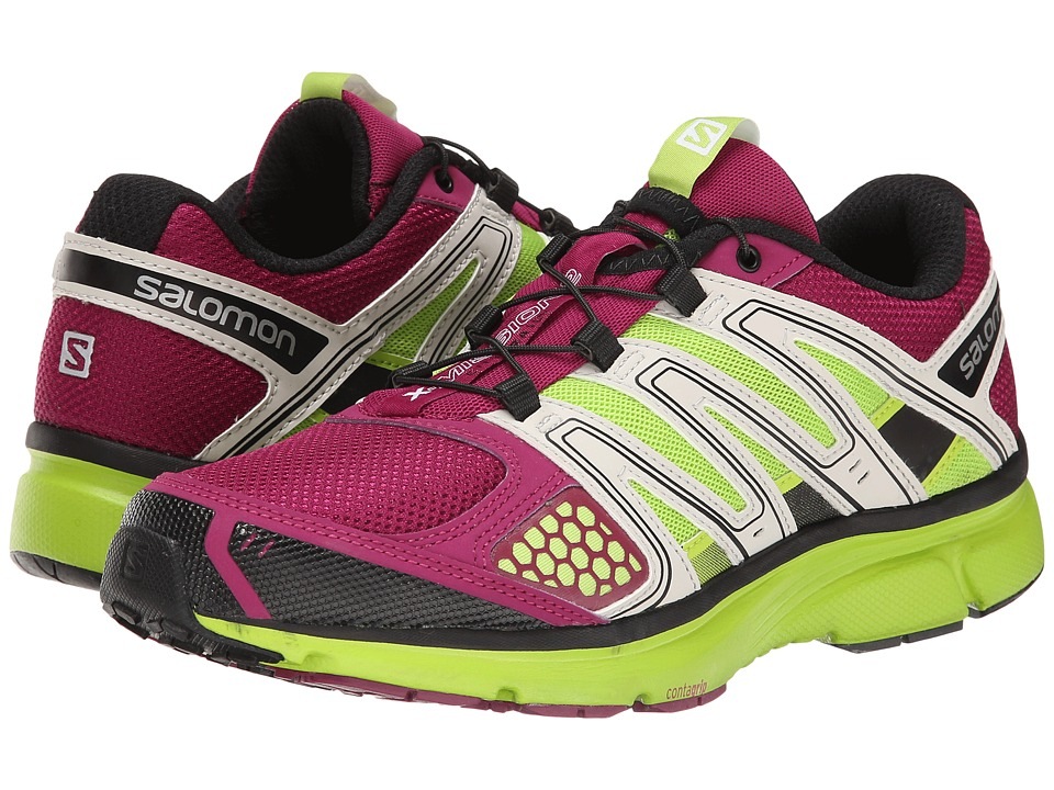 Salomon - X-Mission 2 (Mystic Purple/Light Grey/Granny Green) Women's Shoes