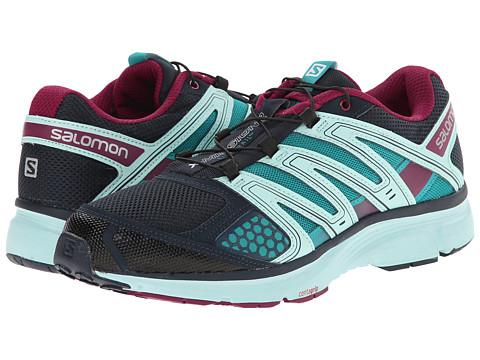 Salomon - X-Mission 2 (Deep Blue/Igloo Blue/Mystic Purple) Women's Shoes