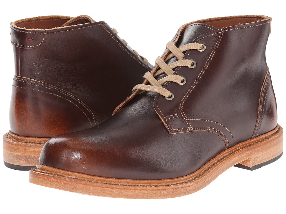 Allen-Edmonds - Odenwald (Brown Leather) Men's Lace-up Boots