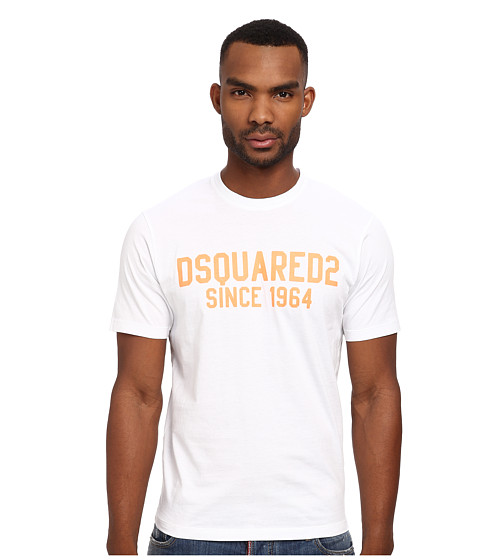 DSQUARED2 - Logo Tee (White) Men's T Shirt