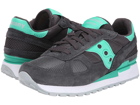 Saucony Originals - Shadow Original (Charcoal/Teal) Women's Classic Shoes