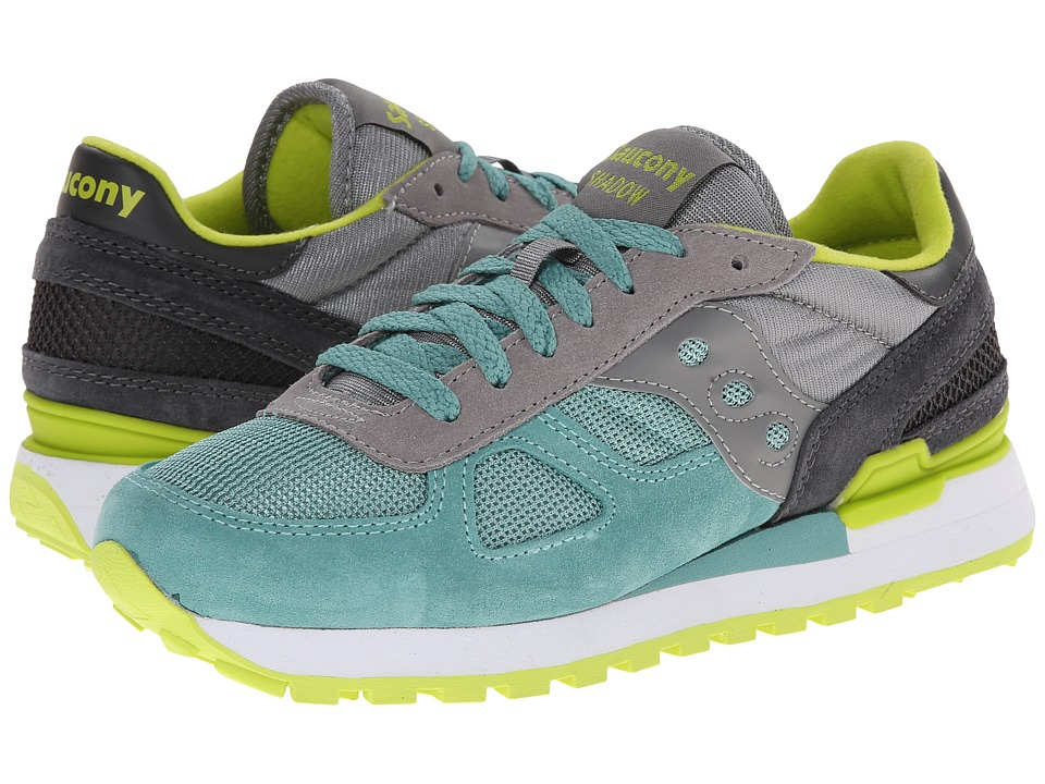 Saucony Originals - Shadow Original (Light Grey/Light Green) Women's Classic Shoes