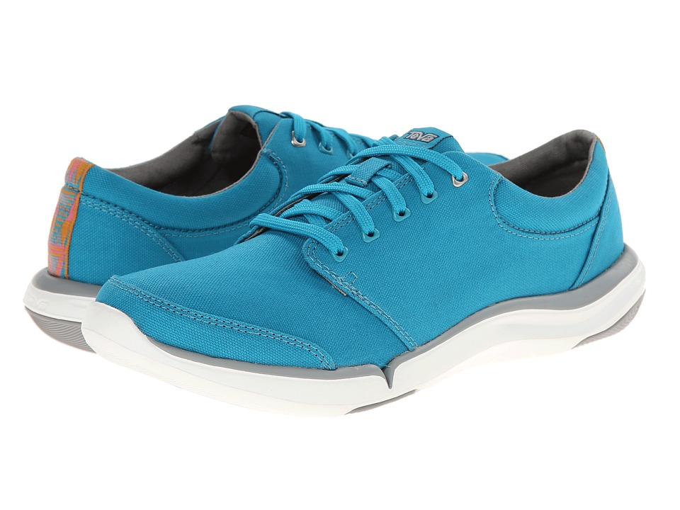 Teva - Wander Lace (Lake Blue) Women's Shoes