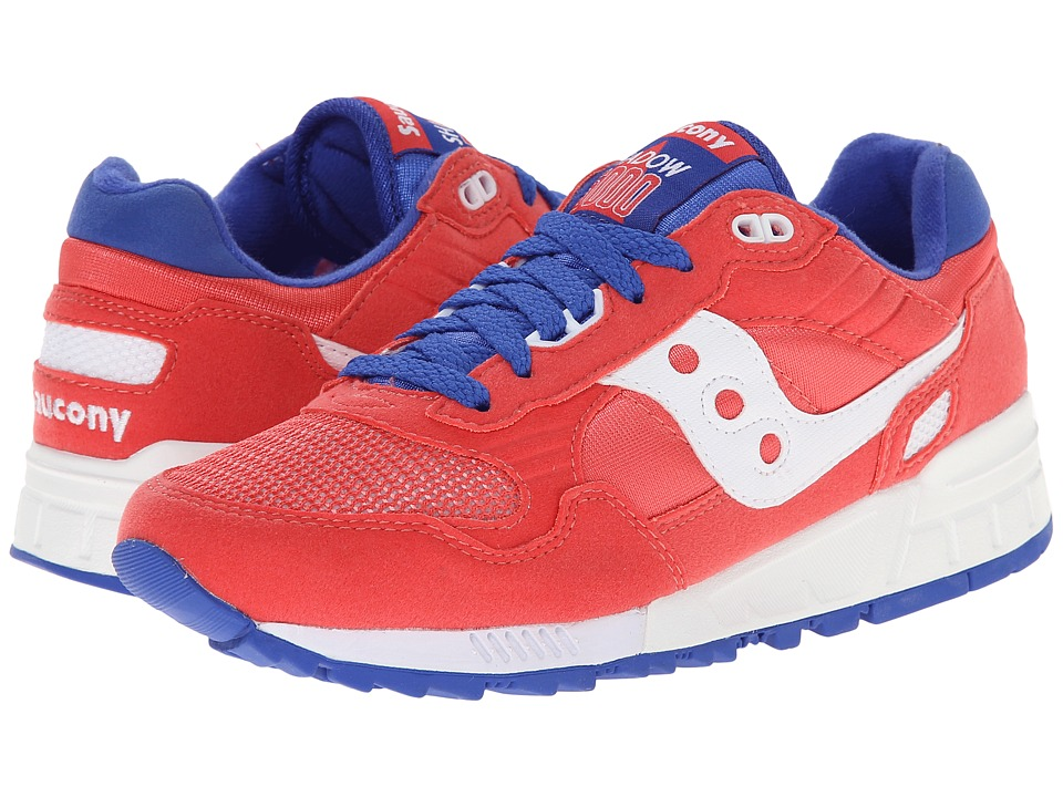 Saucony Originals - Shadow 5000 (Red/White) Women's Classic Shoes