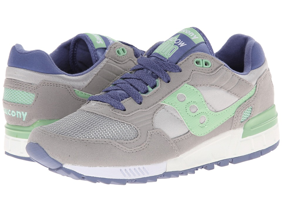 Saucony Originals - Shadow 5000 (Grey/Light Green) Women's Classic Shoes