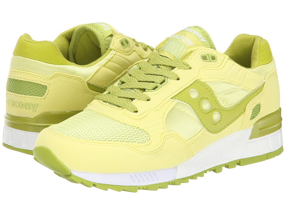 Saucony Originals - Shadow 5000 (Lime) Women's Classic Shoes