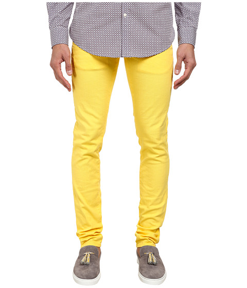 DSQUARED2 - Slim Garment Dyed Jean (Yellow) Men