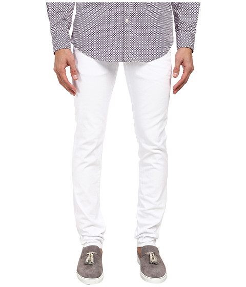 DSQUARED2 - Slim Garment Dyed Jean (White) Men