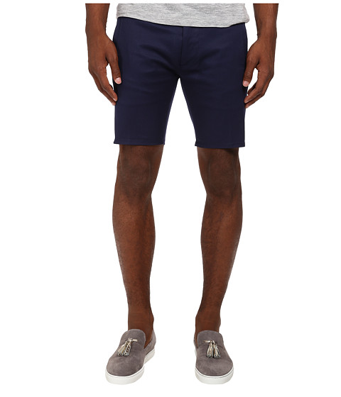DSQUARED2 - Stretch Twill Pencil Short (Blue) Men