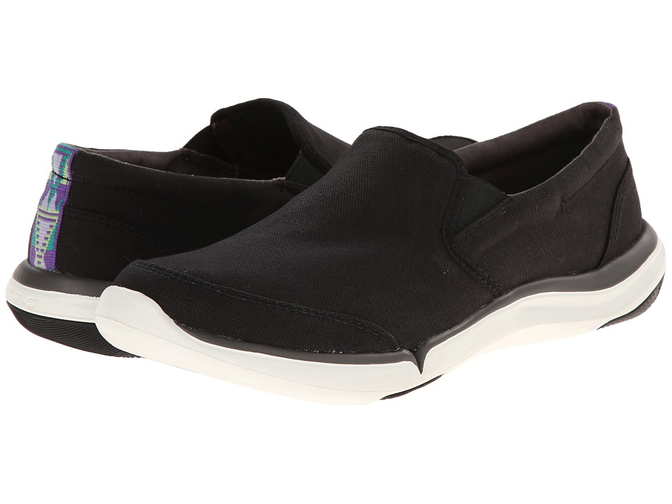 Teva - Wander Slip-On (Black) Women's Shoes