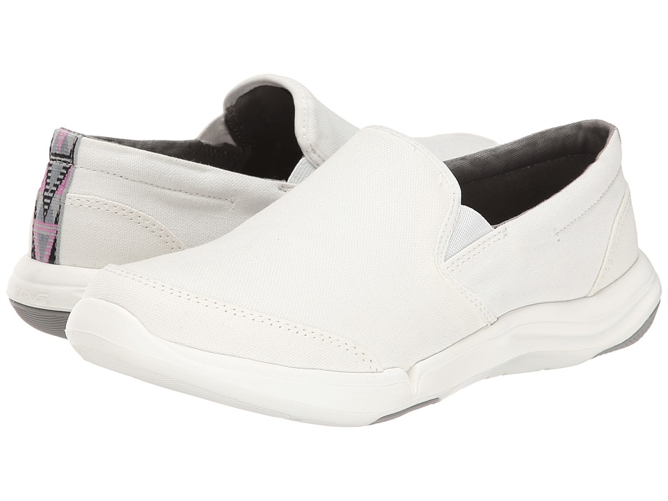 Teva - Wander Slip-On (White) Women
