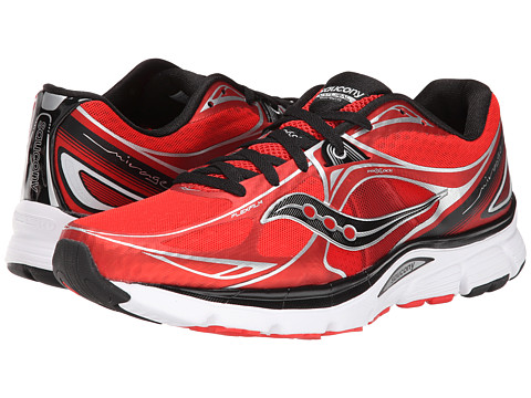 Saucony - Mirage 5 (Red/Black) Men