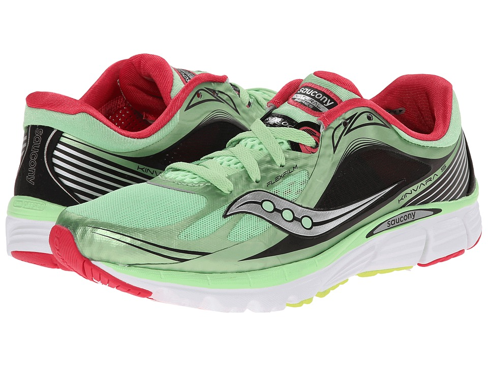 Saucony - Kinvara 5 (Mint/Cherry) Women's Running Shoes