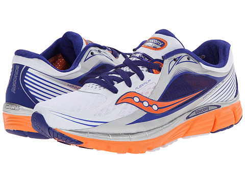 Saucony - Kinvara 5 (White/Twilight/Sunset) Women's Running Shoes