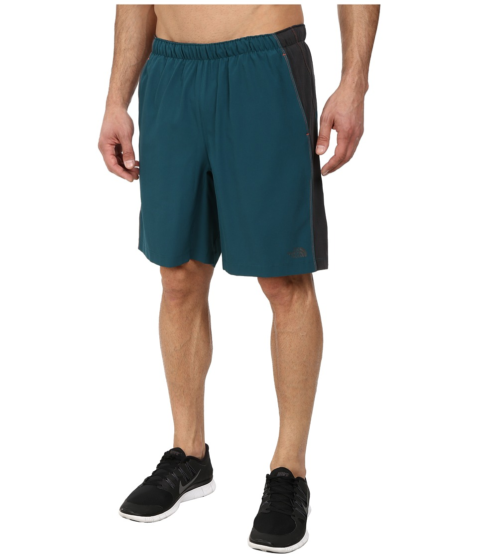 The North Face - Ampere Dual Short (Deep Teal Green/Asphalt Grey) Men's Shorts
