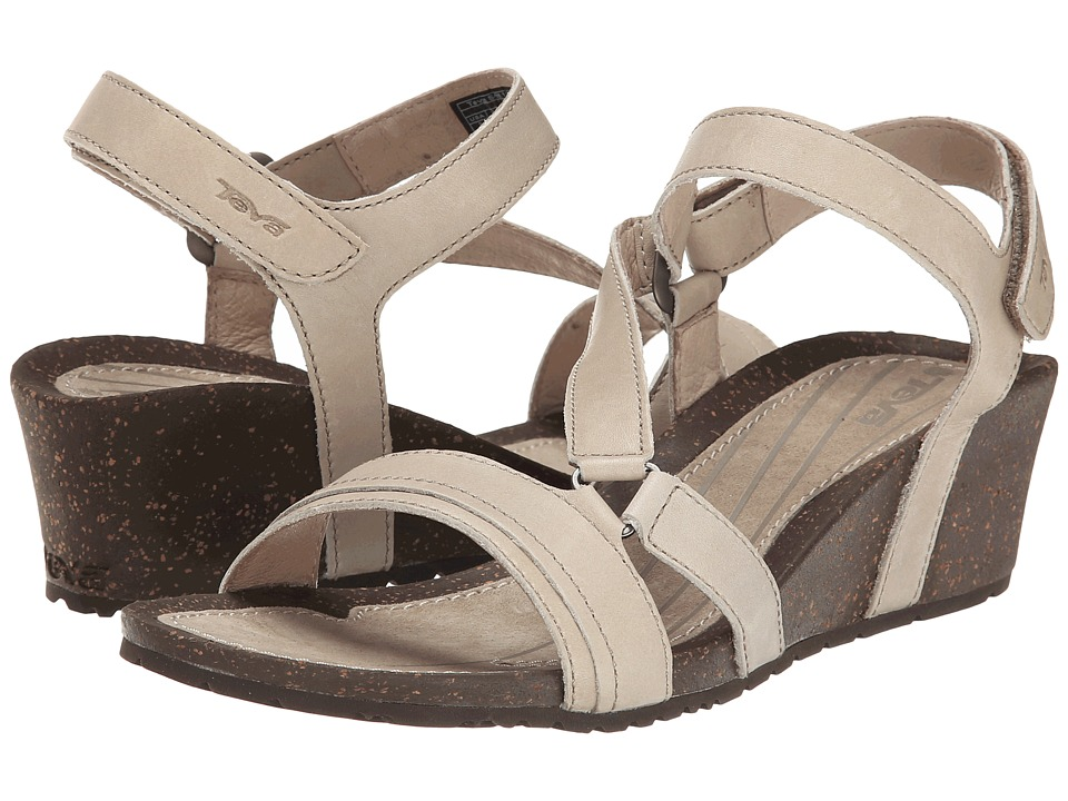 Teva - Cabrillo Crossover Wedge (Dune) Women's Sandals