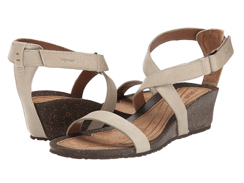 Teva - Cabrillo Strap Wedge 2 (Crockery) Women