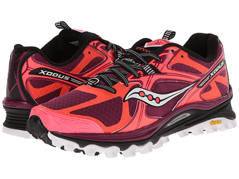 Saucony - Xodus 5.0 (Vizicoral/Berry) Women