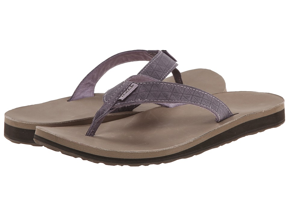 Teva Classic Flip Leather Diamond (Sea Fog) Women