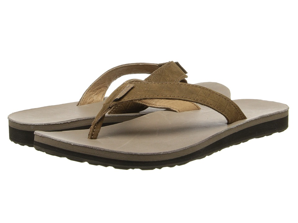 Teva - Classic Flip Leather Diamond (Toasted Coconut) Women's Sandals