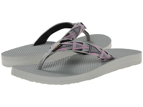 Teva - Classic Flip (Mosaic Pink) Women's Sandals