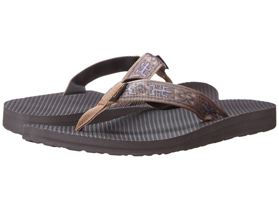 Teva - Classic Flip (Old Lizard Brown) Women's Sandals
