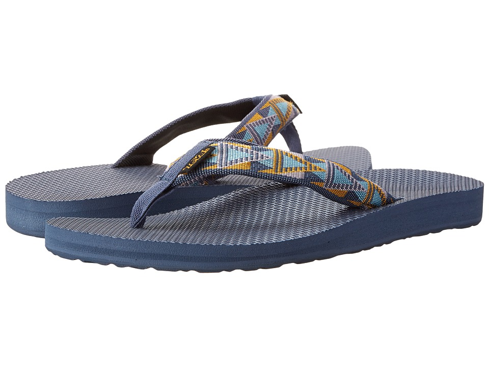 Teva - Classic Flip (Mosaic Vintage Indigo) Women's Sandals