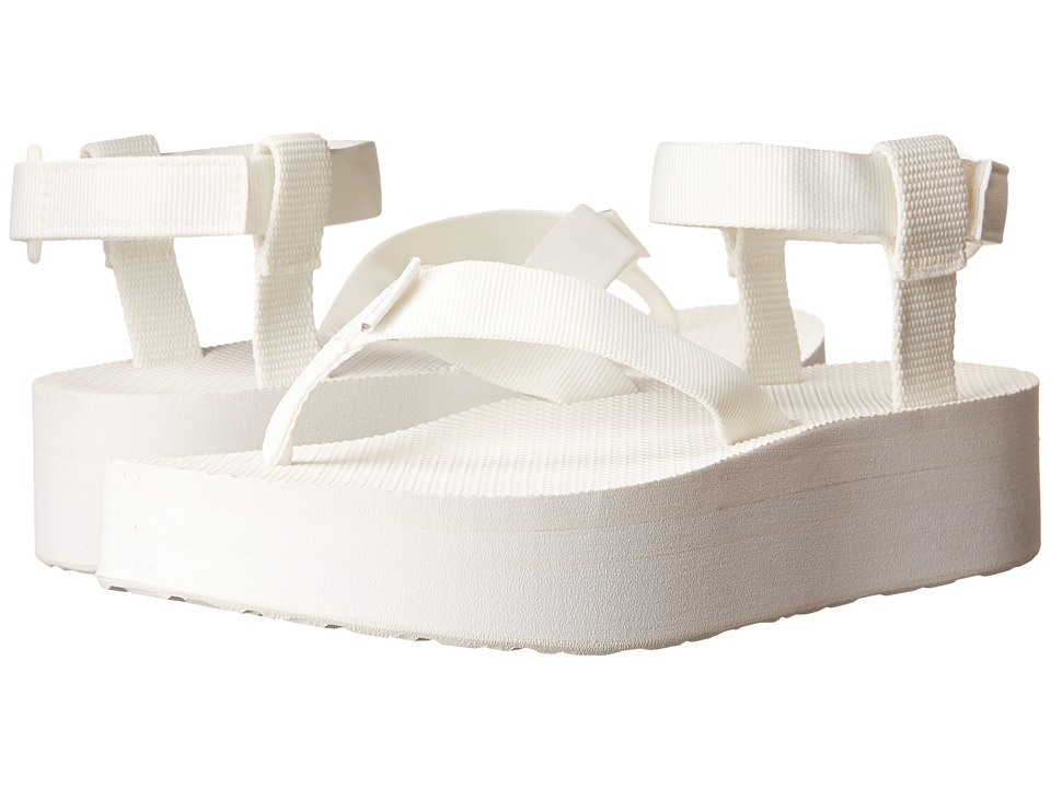 Teva Flatform Sandal (Bright White) Women