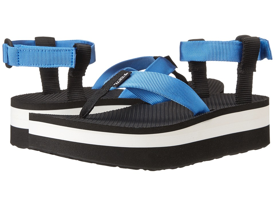 Teva Flatform Sandal (French Blue) Women