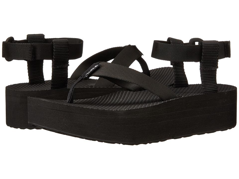 Teva Flatform Sandal (Black) Women