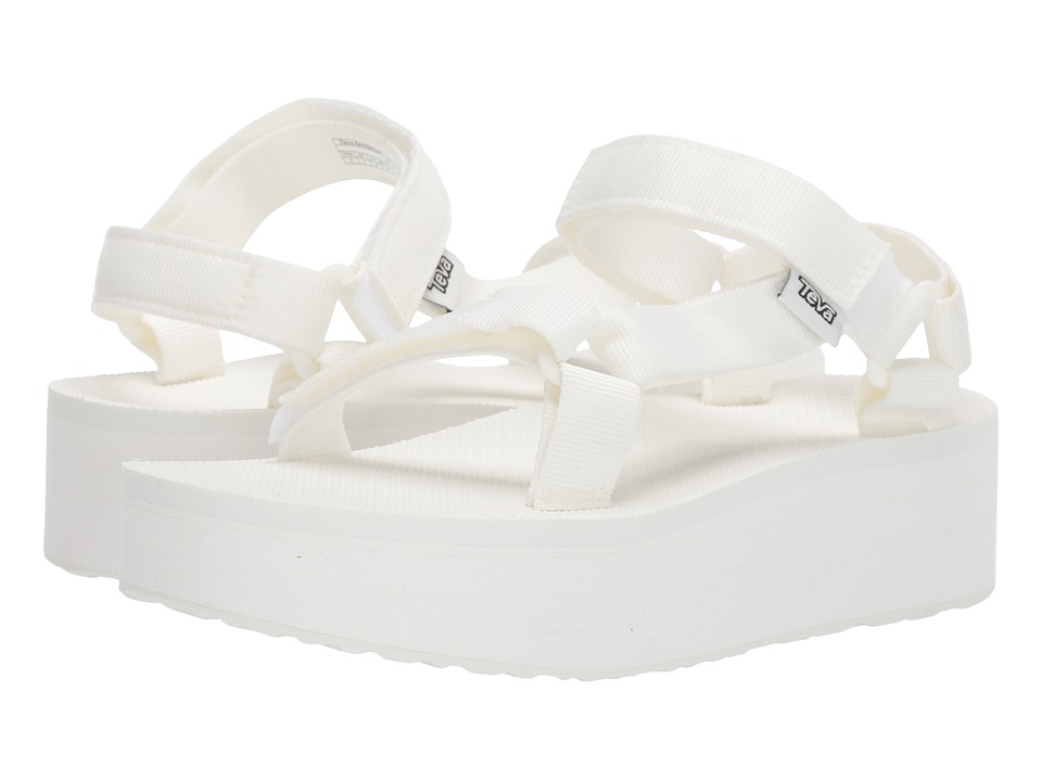Teva - Flatform Universal (Bright White) Women's Sandals