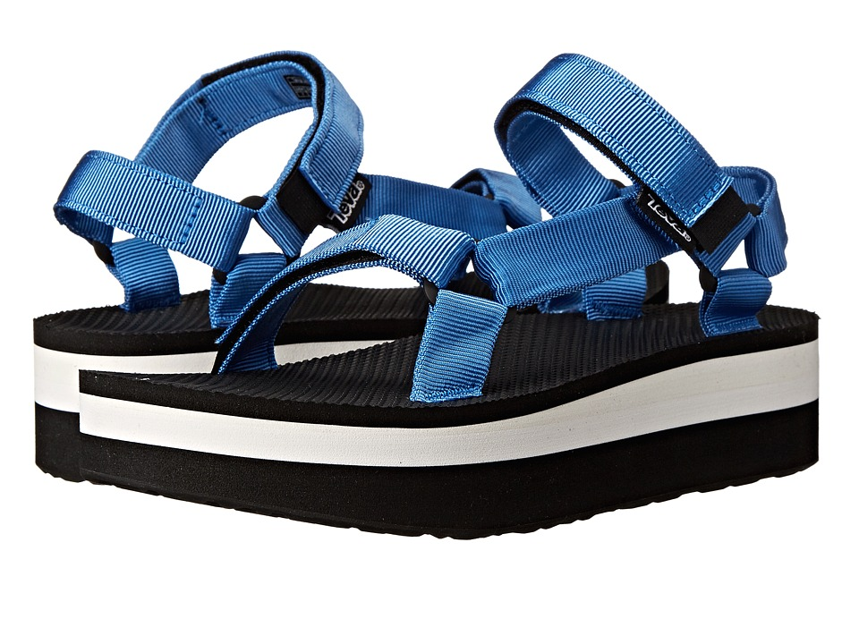 Teva - Flatform Universal (French Blue) Women's Sandals