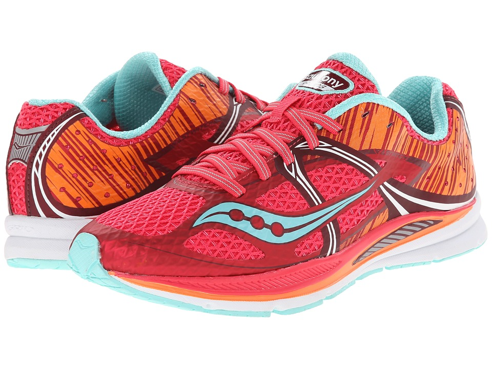 Saucony - Fastwitch (Berry/Blue/Orange) Women's Running Shoes
