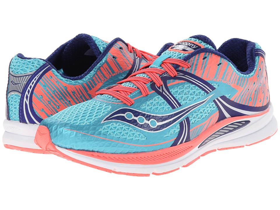 Saucony - Fastwitch (Blue/Pink) Women's Running Shoes