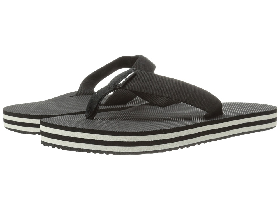 Teva Deckers Flip (Black/White) Women