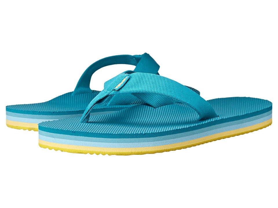 Teva Deckers Flip (Lake Blue) Women