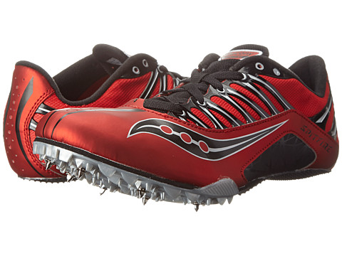 Saucony - Spitfire (Red/Black) Men's Running Shoes