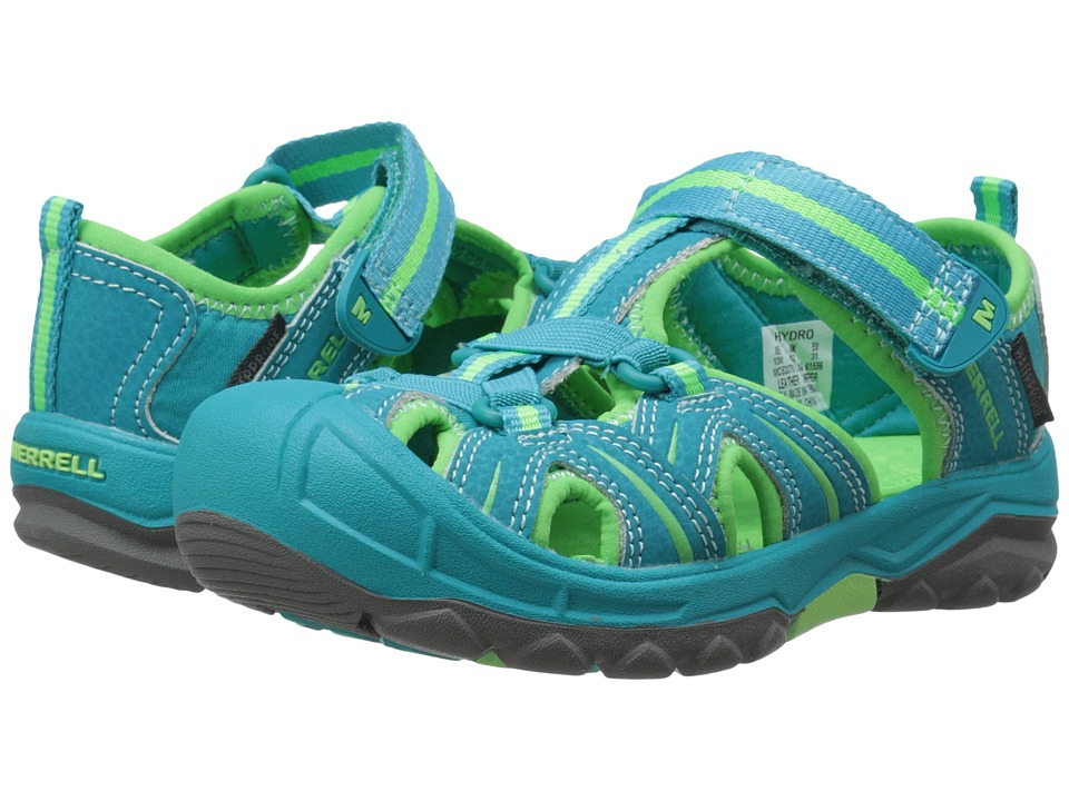 Merrell Kids - Hydro (Big Kid) (Turq/Green) Girls Shoes