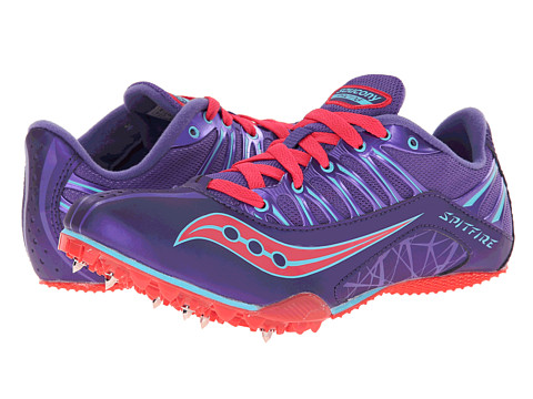 Saucony - Spitfire (Purple/Pink) Women's Running Shoes