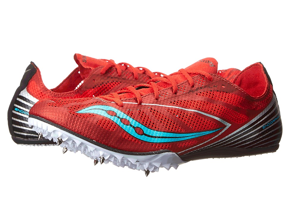 Saucony - Endorphin MD4 (Red/Blue) Men's Shoes