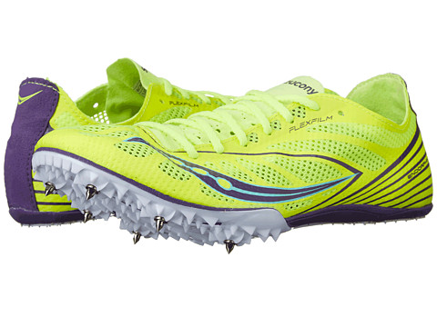 Saucony - Endorphin MD4 (Citron/Purple) Women