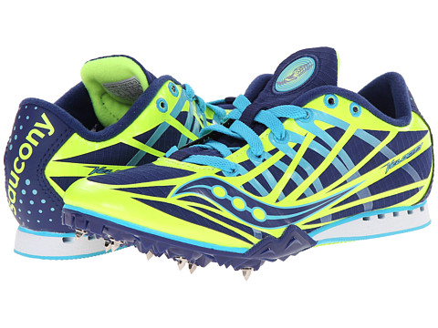 Saucony - Velocity (Citron/Blue) Women's Running Shoes