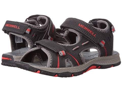 Merrell Kids - Panther (Toddler/Little Kid) (Black/Red) Boys Shoes
